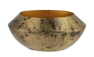 Teelichthalter ¦ gold ¦ Metall Ø: 13 Dekoration > Kerzen & Lichter > Kerzenständer - Höffner