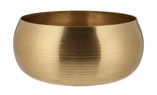 Deko Schale ¦ gold ¦ Aluminum Ø: 25 Dekoration > Deko-Schalen - Höffner