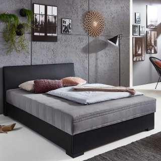 Polsterbett mit Kunstlederbezug 45 cm Einstiegshöhe