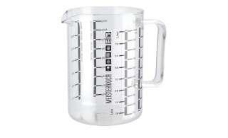 Messbecher 1L  Optimus ¦ transparent/klar ¦ Borosilikatglas Ø: 10.6 Küchenzubehör & Helfer > Küchenhelfer - Höffner