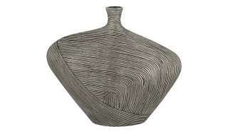 Deko Vase ¦ grau ¦ Polyresin (Kunstharz) Dekoration > Vasen - Höffner