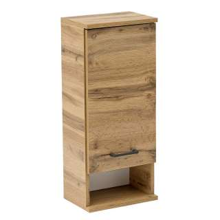 Badezimmer Hängeschrank in Wildeichefarben Touchwood Made in Germany