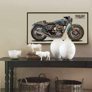 home24 Bild Motorrad colorful II