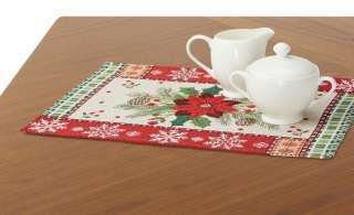 LAVIDA Platzset  Goblin Weihnachtsstern ¦ mehrfarbig ¦ 65% Polyester, 35% Baumwolle Heimtextilien > Tischwäsche > Platzsets - Höffner