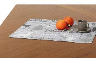 LAVIDA Platzset  Goblin Tierschrift ¦ grau ¦ 65% Polyester, 35% Baumwolle Heimtextilien > Tischwäsche > Platzsets - Höffner