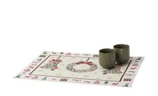 LAVIDA Platzset  Goblin Glocken/Kranz ¦ mehrfarbig ¦ 65% Polyester, 35% Baumwolle Heimtextilien > Tischwäsche > Platzsets - Höffner
