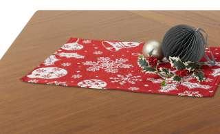 LAVIDA Platzset  Goblin Weihnachten ¦ rot ¦ 65% Polyester, 35% Baumwolle Heimtextilien > Tischwäsche > Platzsets - Höffner