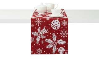 LAVIDA Tischläufer  Goblin Weihnachten ¦ rot ¦ 65% Polyester, 35% Baumwolle Heimtextilien > Tischwäsche > Tischläufer - Höffner