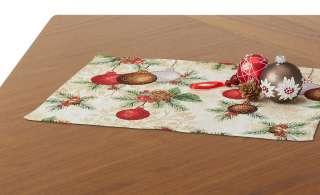 LAVIDA Platzset  Goblin Weihnachtskugeln ¦ mehrfarbig ¦ 65% Polyester, 35% Baumwolle Heimtextilien > Tischwäsche > Platzsets - Höffner