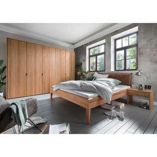 Massivholz Schlafzimmer aus Kernbuche geölt modern (vierteilig)