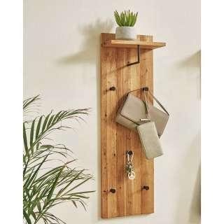 Garderobenpaneel aus Eiche Massivholz Landhausstil