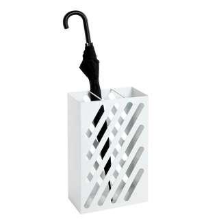 Metall Schirmständer in Weiß modernem Design