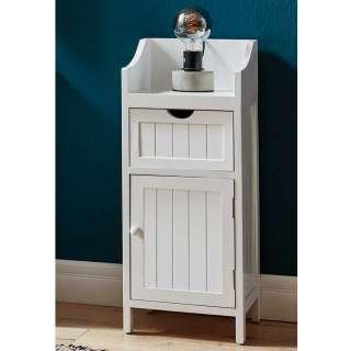 Nachttisch Schrank im Landhausstil einer Schublade und Tür