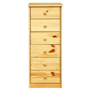 Schubladenkommode aus Kiefer Massivholz lackiert Landhausstil
