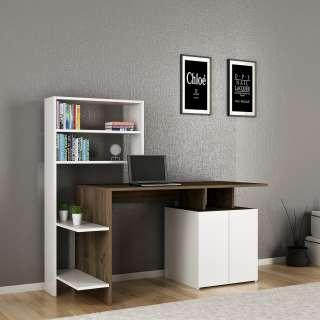 home24 Schreibtisch-Kombination Milli