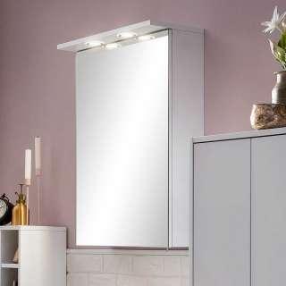 Badezimmerspiegelschrank mit LED Beleuchtung Steckdose