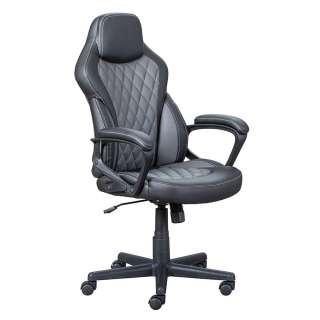 Chef Sessel ergonomisch in Schwarz und Grau modernem Design