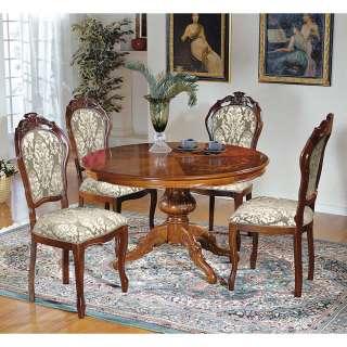Barocke Sitzgruppe in Nussbaumfarben Beige Gold