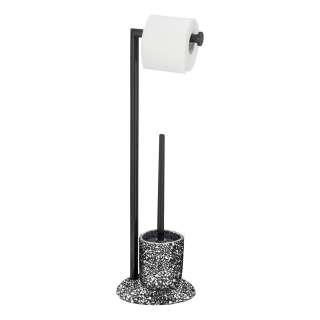home24 Stand WC-Garnitur Terrazzo