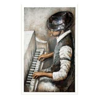 home24 Metallbild Rhythm And Blues