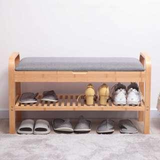 Garderobenbank Flur mit Ablage für Schuhe Truhe