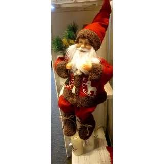 home24 Dekofigur Weihnachtsmann II