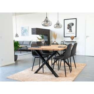 home24 Esszimmerstuhl Renty III (2er-Set)