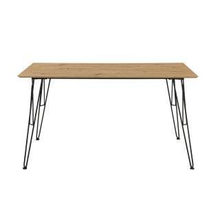 Tisch Tacona ¦ holzfarben Tische > Beistelltische > Beistelltische ohne Rollen - Höffner