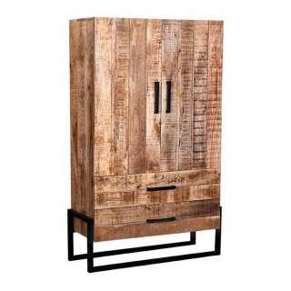 Esszimmer Schrank 2 Türen 2 Schubladen Industrie und Loft Stil