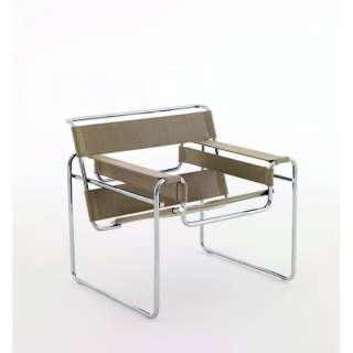 Knoll International - Breuer Original Wassily Loungesessel - Canvas Leinen - indoor