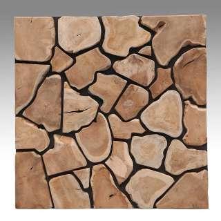 Wandbild aus Holz 80 cm