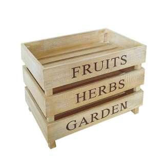 Holzkisten für Lebensmittel kaufen (3er Set)
