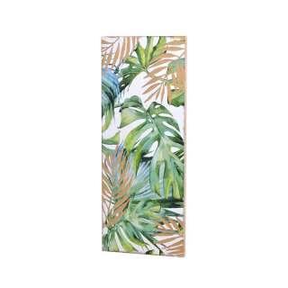 Design Wandbild im Dschungel Look Tanne Massivholz