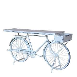 Flur Konsolentisch im Fahrrad Design Shabby Chic
