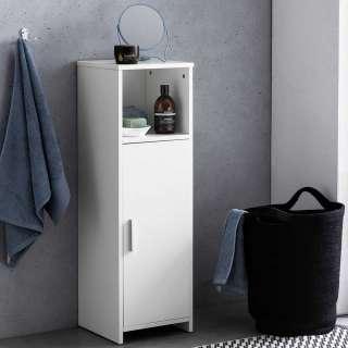 Badezimmer Unterschrank in Weiß 30 cm breit