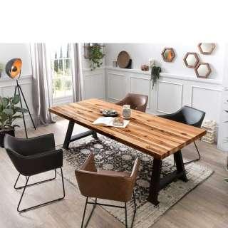 Esszimmergruppe modern Armlehnenstühlen (5-teilig)