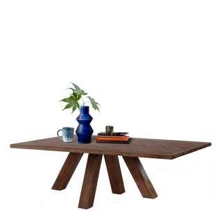 Vollholztisch aus Akazie Massivholz Landhaus Design